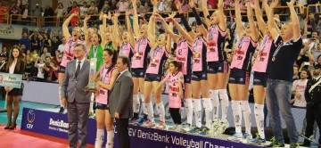 """The """"Pomì pink panthers"""" are the european champions!"""